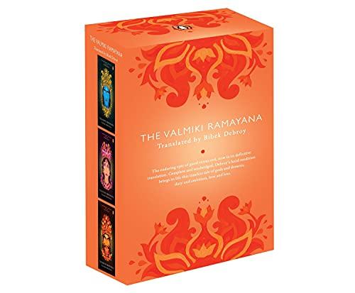 The Valmiki Ramayana (3 VOL,Box Set)