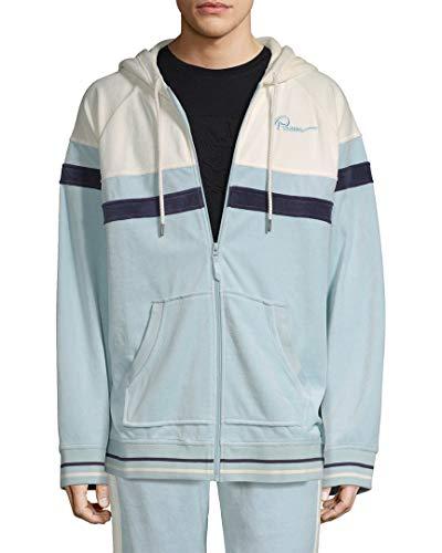 Fenty Puma by Rihanna Mens Fitness Activewear Track Jacket Blue XL