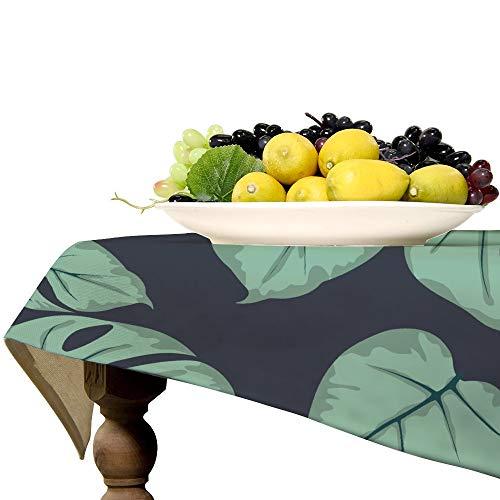 Mantel rectangular de lino para mesa de cocina, comedor, decoración de mesa, 57 x 119 pulgadas
