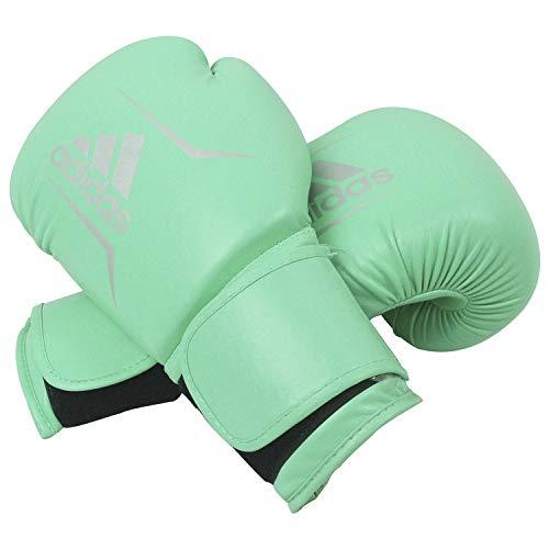 adidas Adultos Speed 50adisbg50, 12oz, Guantes de Boxeo, Verde/Plata