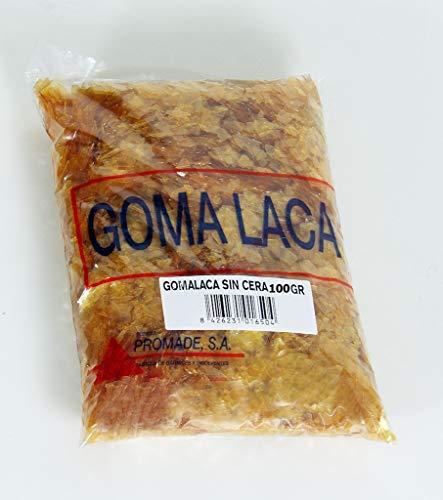 Promade - Goma Laca SIN CERAS Superblonde en Escamas (100 gr.)