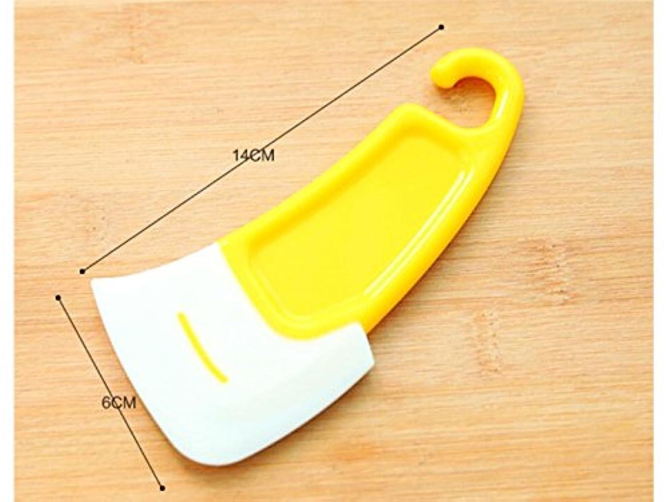 ソース然とした設計図Oside キッチンクリーニングブラシシリコンスクレーパーノンスティックオイルスクレーパーブラシポットツール
