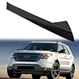 A-Pillar Front Molding Windshield Outer Trim Inner Replacement for BB5Z-7803145-AA, BB5Z-7803137-AB W/Side Tape For 2011-2019 Ford Explorer 4 Door Utility (Left)