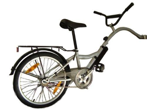 terrabikes Nachläufer Trailer Bike Kinderfahrrad, Silber, one size
