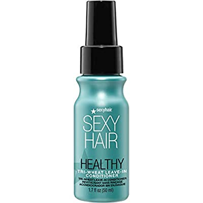 SexyHair Healthy Tri-Wheat Leave-In Conditioner   Up to 90% Better Detangling   Reduces Breakage   Moisture, Smoothness, and Shine