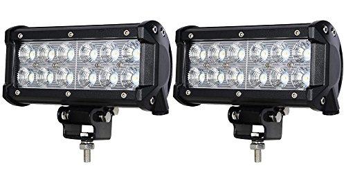 ALPHA DIMA 2X 36W 72W 18W LED 3600LM 6000K 12V 24V Arbeitslicht Offroad Flutlicht Reflektor Scheinwerfer IP67 Arbeitsscheinwerfer(36 watt)