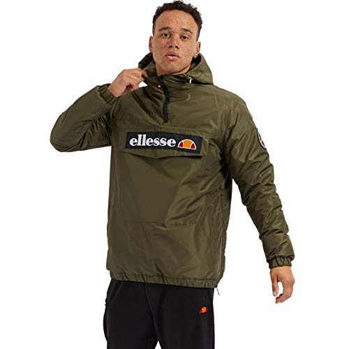ellesse Jacke Herren MONTERINI OH Jacket Grün Khaki, Größe:XL
