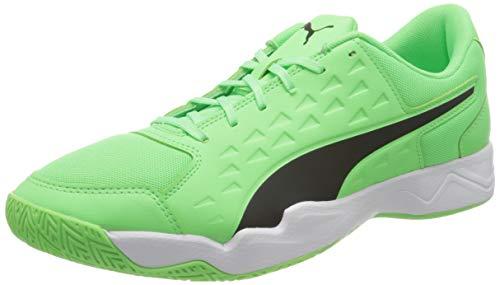 PUMA Auriz, Scarpe da Calcio Uomo, Verde (Electric Green Black White), 45 EU