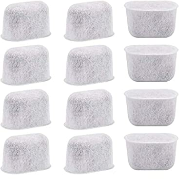 12-Pack Cuisinart Coffee Maker Filter Replacement All Cuisinart Coffee Maker Charcoal Filters Fit For Cuisinart DCC-1200 DGB-900BC CHW-12 SS-700 DGB-700BC DCC-3000 DCC-1100 DGB-625BC
