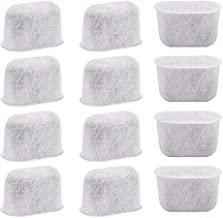 12-Pack of Cuisinart Compatible Coffee Maker Filter Replacement All Cuisinart Coffee Maker Charcoal Filters Fit For Cuisinart DCC-1200 DGB-900BC CHW-12 SS-700 DGB-700BC DCC-3000 DCC-1100 DGB-625BC