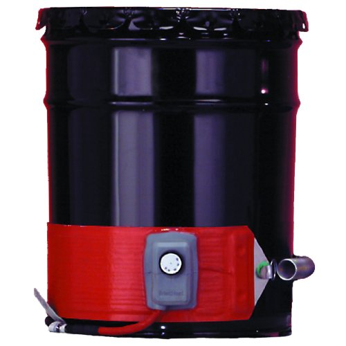 Buy BriskHeat ECONO30-1 ECONO Metal Drum Heater, Fits 30-Gallon Drums, 2-Layer Reinforced Silicone R...