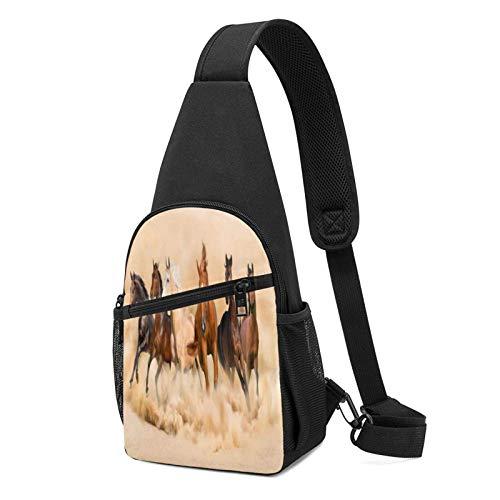DJNGN Zaino ultraleggero Six Horses Chest Backpack Chest Pack