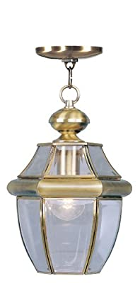 Livex Lighting 2152-07 Monterey 1-Light Outdoor Chain Hang