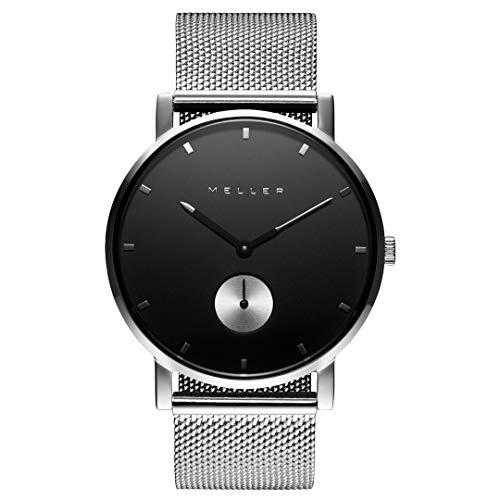 MELLER - Maori Black Silver - Relojes para hombre y mujer