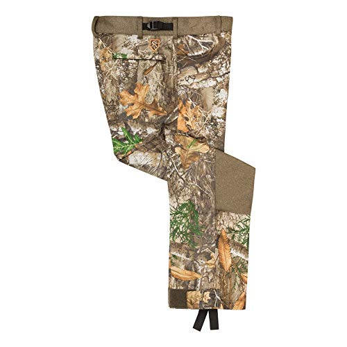 Drake Waterfowl Men's Endurance Jean Cut with Agion Active XL Hunting Pant, Real Tree Edge, Large