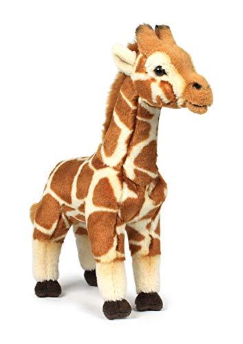 WWF 15195005 Plüsch Kollektion WWF14797 Plüsch-Giraffe, braun, 31 cm