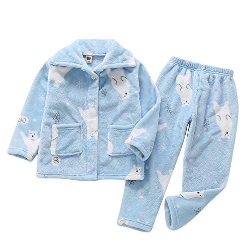 Pijamas Niños Niñas Ropa De Dormir Collar De Mantón Halloween Terry Housecoat Bata Pijama