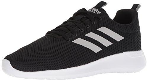 adidas Men's LITE Racer CLN Running Shoe, Black/Grey/White, 9 M US