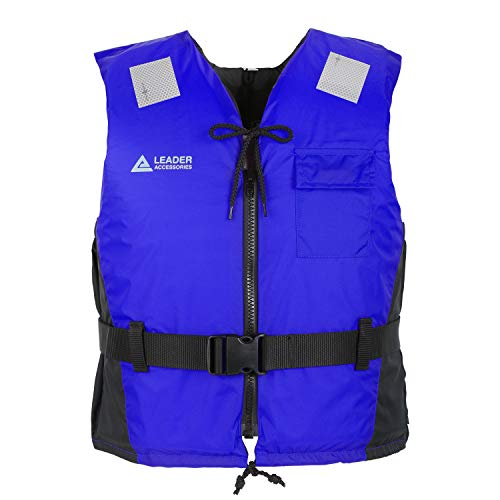 Leader Accessories Adult's 45-50N Sport II Front Zipper,Nylon,Buoyancy Vest...