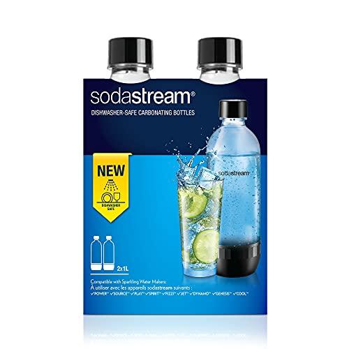 SodaStream Bottiglia per gasatore d'acqua, Trasparenti, Compatibili con modelli gasatori SodaStream...