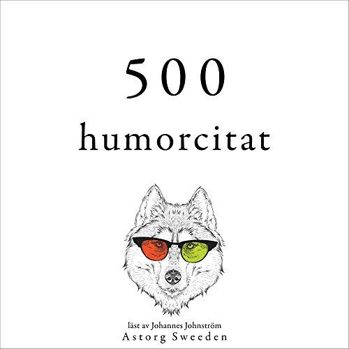 500 citat av humor cover art