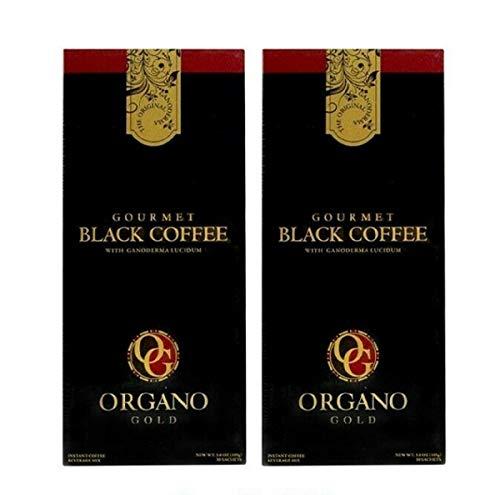 Organo Gold GOURMET BLACK COFFEE Café NOIR (30 Sachets) (2)
