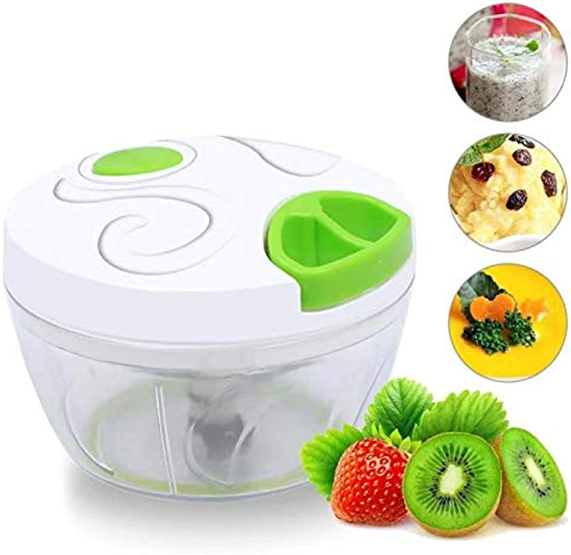 Vegetable Chopper Manual Pull String Food Chopper Kitchen Gadget