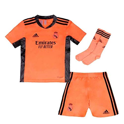 adidas Madrid Temporada 2020/21 Real A GK Mini Conjunto Portero Segunda equipación, Unisex, Art 2, 116