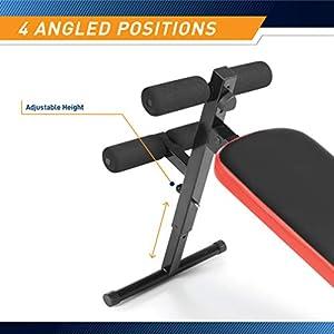 Marcy Utility Slant Board w/ Headrest – Folding Design with Adjustable Positions SB-4606