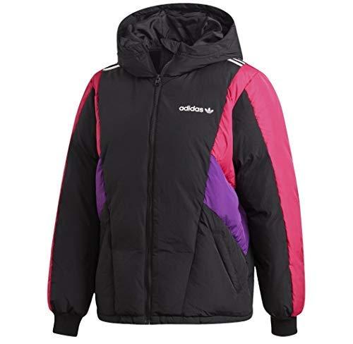 adidas DOWN JKT - Sudadera con capucha para mujer, color negro Negro 40