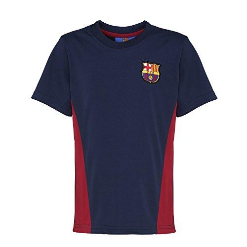 FC Barcelona - Camiseta Oficial del FC Barcelona Manga Corta para niños - Fútbol/Deporte/Gym/Running (2/3 años) (Azul Marino)