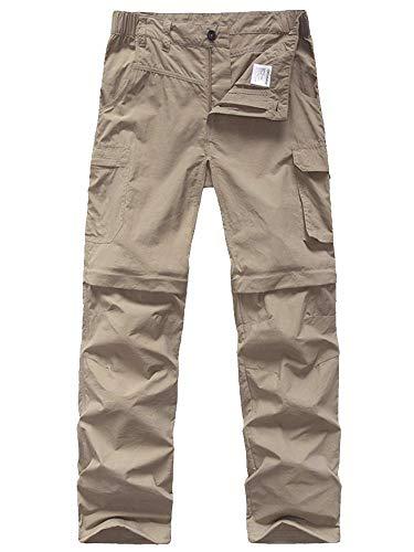 Jessie Kidden Kids Softshell Fleece Lined Trousers,Youth Boys Girls Outdoor Waterproof Windproof Snow Ski Hiking Warm Climbing Pants #16010