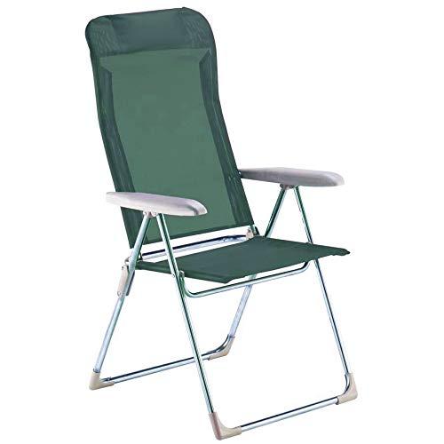 Fiam Chaise Longue de Plage avec Cadre en Aluminium textilène Vert