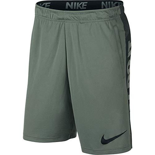 NIKE Dry Pantalones Cortos, Verano, Hombre, Color Clay Green/(Black), tamaño XX-Large