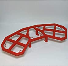 Wild Boar ATV Parts Can-am Renegade 500/570/800/850/1000 Rear Rack (Can-Am Red)