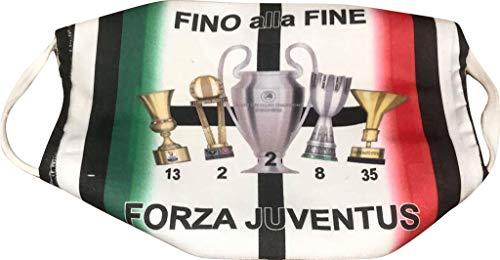 MAESTRI DEL CALCIO Mascherina TROFEI F.C. Juv JUVENTU (Dybala, Buffon, Ronaldo, HIGUAIN, DE LIGT)