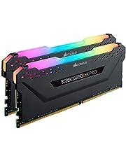 Corsair DDR4-3200MHz デスクトップPC用 メモリ VENGANCE RGBシリーズ 16GB [8GB×2枚] CMW16GX4M2E3200C16