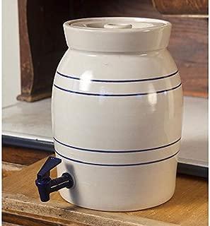 Heritage Blue Stripe Stoneware Water Cooler