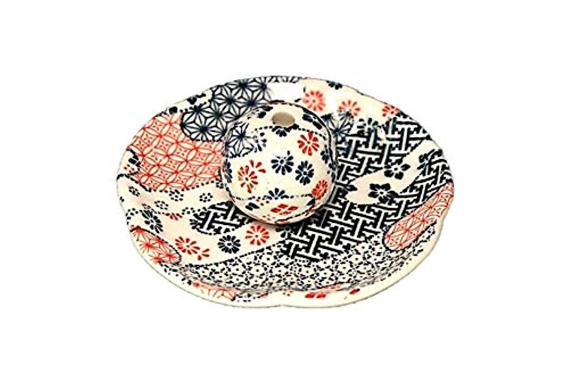 打ち上げる長老解凍する、雪解け、霜解け雲祥端 花形香皿 お香立て お香たて 日本製 ACSWEBSHOPオリジナル