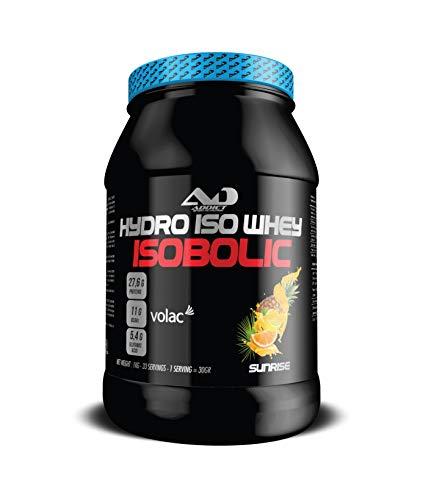 ADDICT SPORT NUTRITION AD - Protein - Hydro Iso Whey Isobolic - 1 Kilo - Flavour Sunrise (Orange - Pineaple - Citrus)