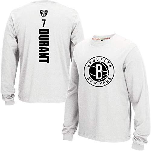 XIETARPAULIN NBA Camiseta de manga larga para hombre, diseño de Brooklyn Nets de Brooklyn Nets (talla: XXL)