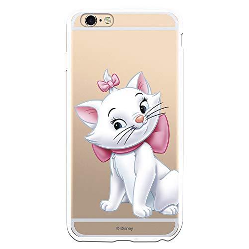 Custodia per iPhone 6 Plus - 6S Plus Ufficiale degli Aristogatti Marie Silhouette per proteggere il tuo cellulare Cover in silicone flessibile con licenza ufficiale Disney.