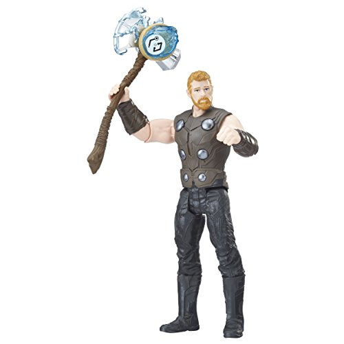 Marvel- Figura Infinity War, Thor con Gema y Accesorio (