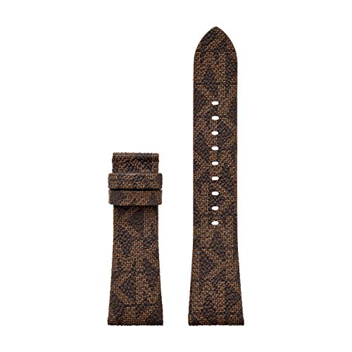 Michael Kors Women's Bradshaw Interchangeable Brown Leather Strap, 22mm (Model: MKT9088)