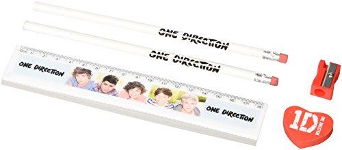 Unbekannt One Direction Offizielle Stationery Set–Mehrfarbig