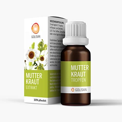 GOLISAN Premium Mutterkraut Extrakt Tropfen - hochdosiert - Tropfen 15ml