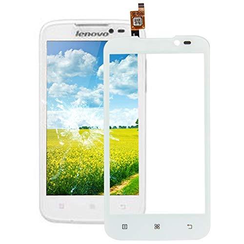xiaowandou Reparar para su teléfono El Caso del tirón Universal Litchi Textura Vertical PU Bolso de la Cintura/de 6,4 Pulgadas y Accesorio del teléfono Inteligente a renovación (Color : White)