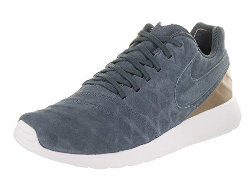 Nike Herren Roshe Tiempo VI F.C. Sneaker, Blau (Blau Fox/Metallisch Gold/Hochschule Marine 400), 43 EU