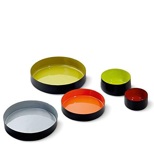 Philippi Colore Schale, Eisen, Grau, 23 x 23 x 4 cm