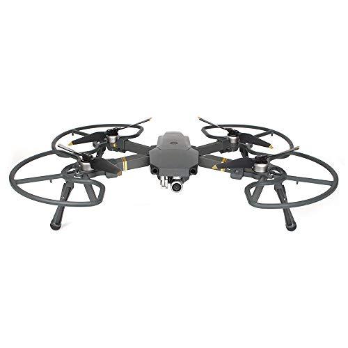 Flycoo 2 in 1 Propeller Schutz für DJI Mavic Pro / Platinum / Alpine + Fahrwerk Faltbare Fahrwerk für DJI Spark Anti-Schock-Zubehör - 4 Stück / Set